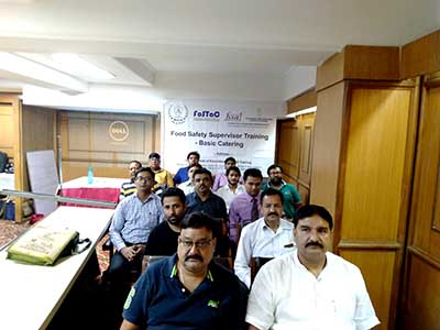 IIEST-Workshop of Basic Catering